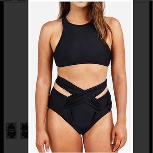 20e61620fb5 Cupshe Swim | Take Me Out Tank Bikini Set Black | Poshmark